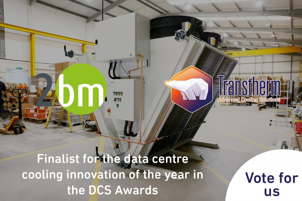 Vote Transtherm – Better cooling for legacy data centres