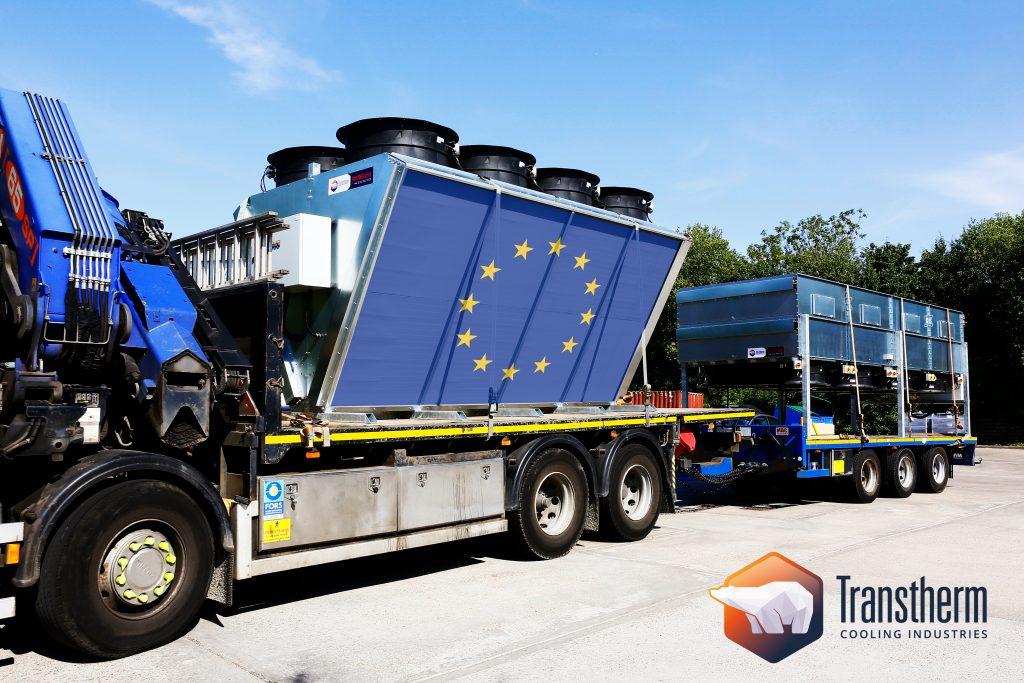 V-Cooler Flat-Bed on truck