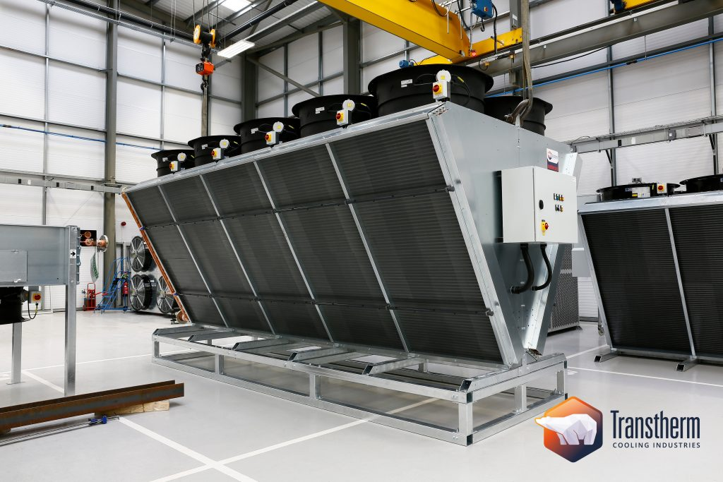 Adiabatic Cooler with Bespoke Raised Support
